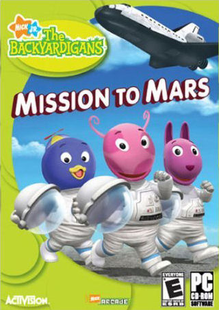 the backyardigans mission to mars book - photo #5